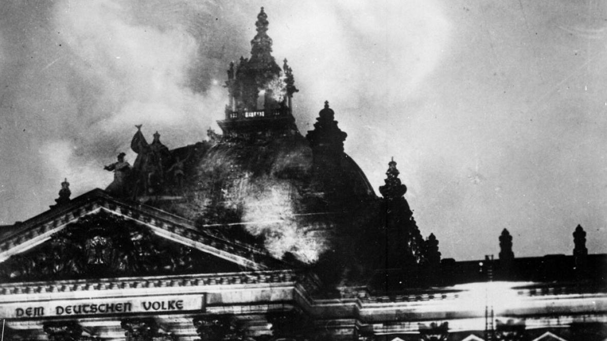 Požár Reichstagu