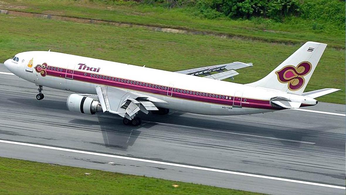 Airbus A300B4-622R thajských aerolinií