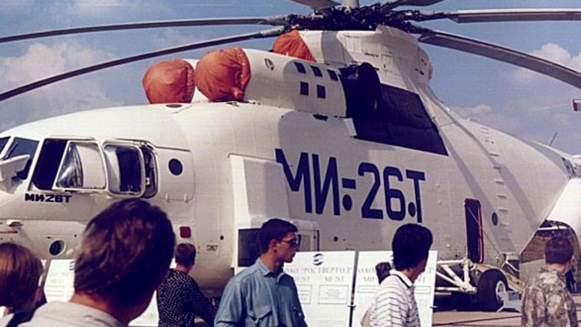 Ruský transportní vrtulník Mi-26