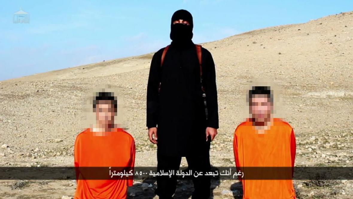 Japonští zajatci IS