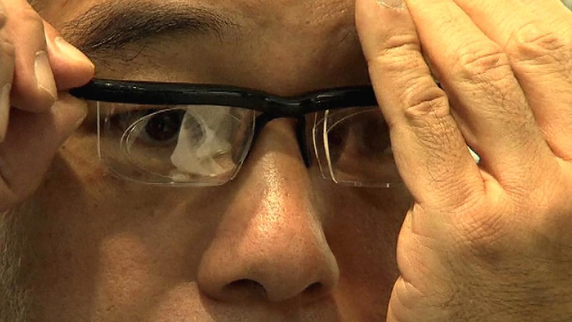Brýle s nastavitelnými dioptriemi