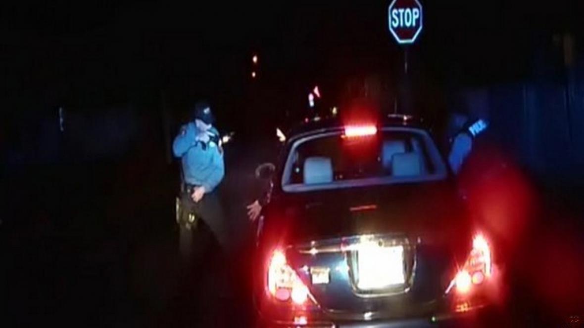Záběr z prosincového incidentu v Brigetonu