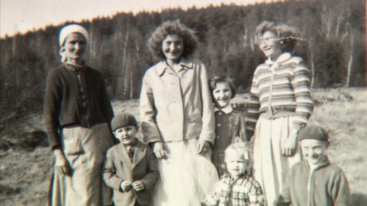 Archivní fotografie rodiny Gondekovy