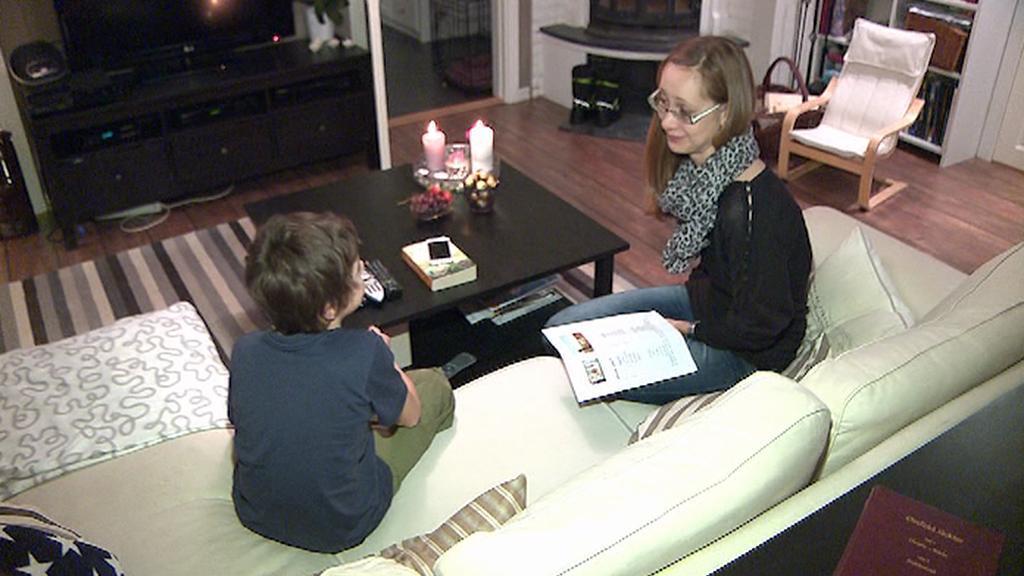 Karolína Lippert se synem