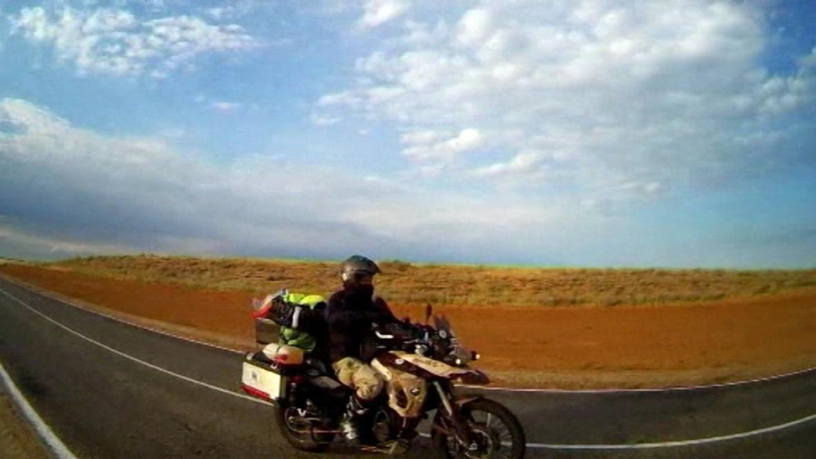 Na motorce k sibiřskému Bajkalu
