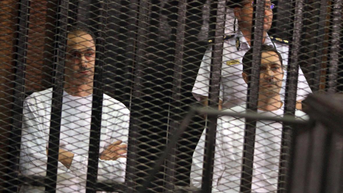 Gamál a Alá Mubarakovi