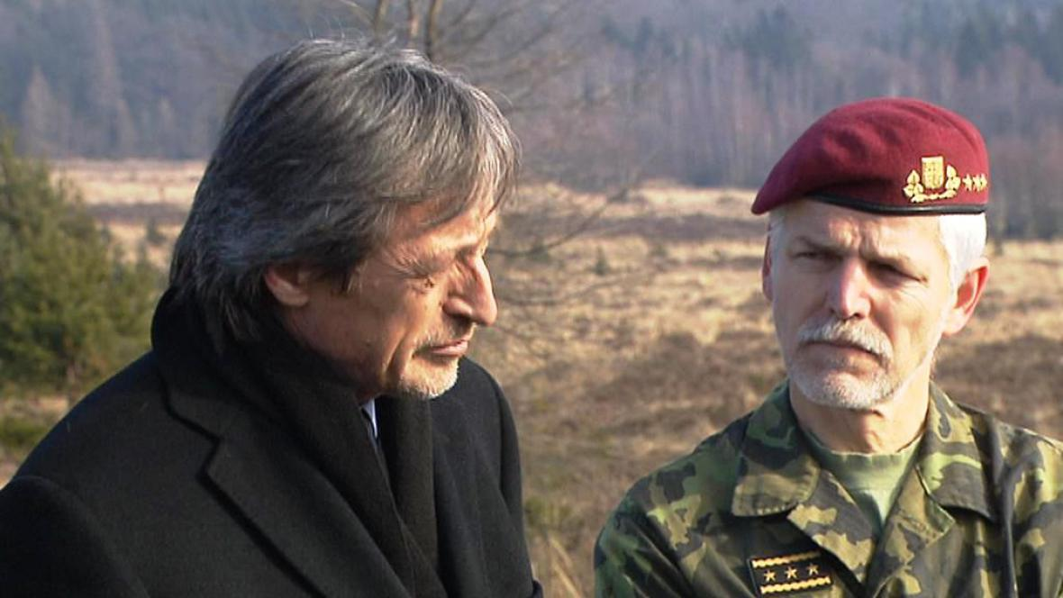Martin Stropnický a Petr Pavel