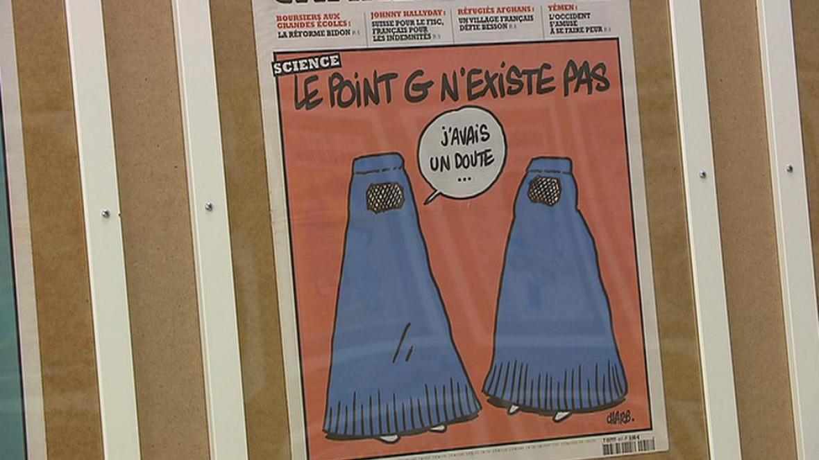 Výstava Charlie Hebdo v DOXu