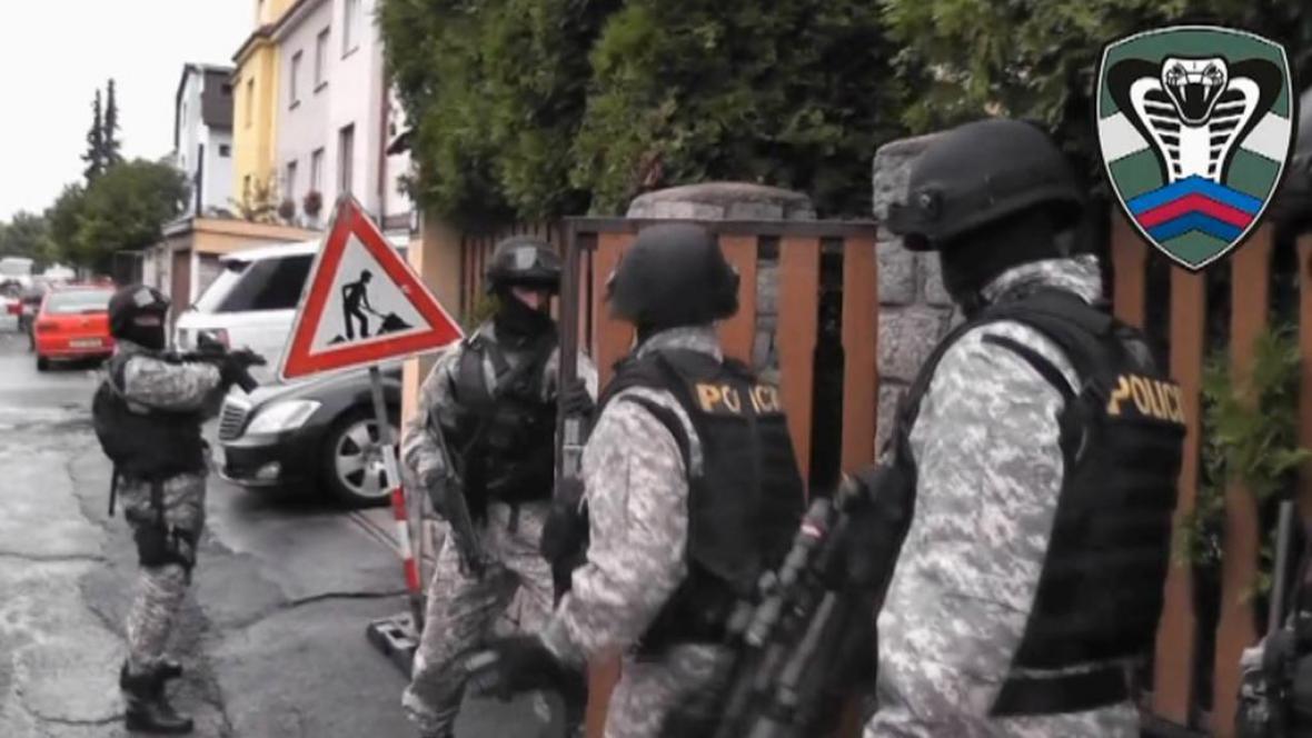 Zásah protikorupčního týmu Kobra