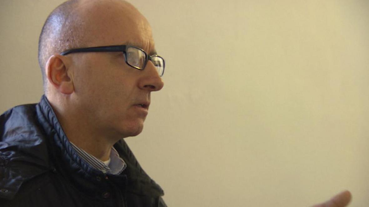Antoni Miquel při jednání soudu