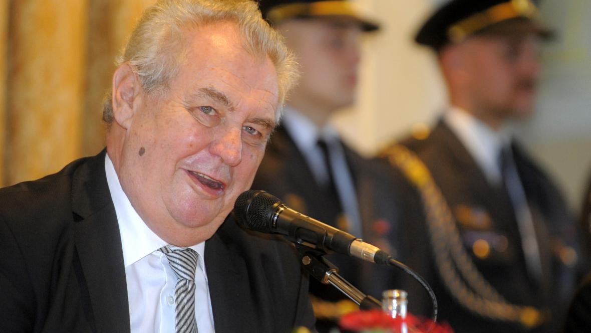 Miloš Zeman na návštěvě Pardubického kraje