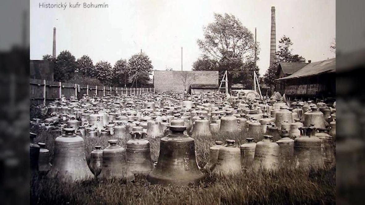 Zvony z Bohumína zabavené nacisty