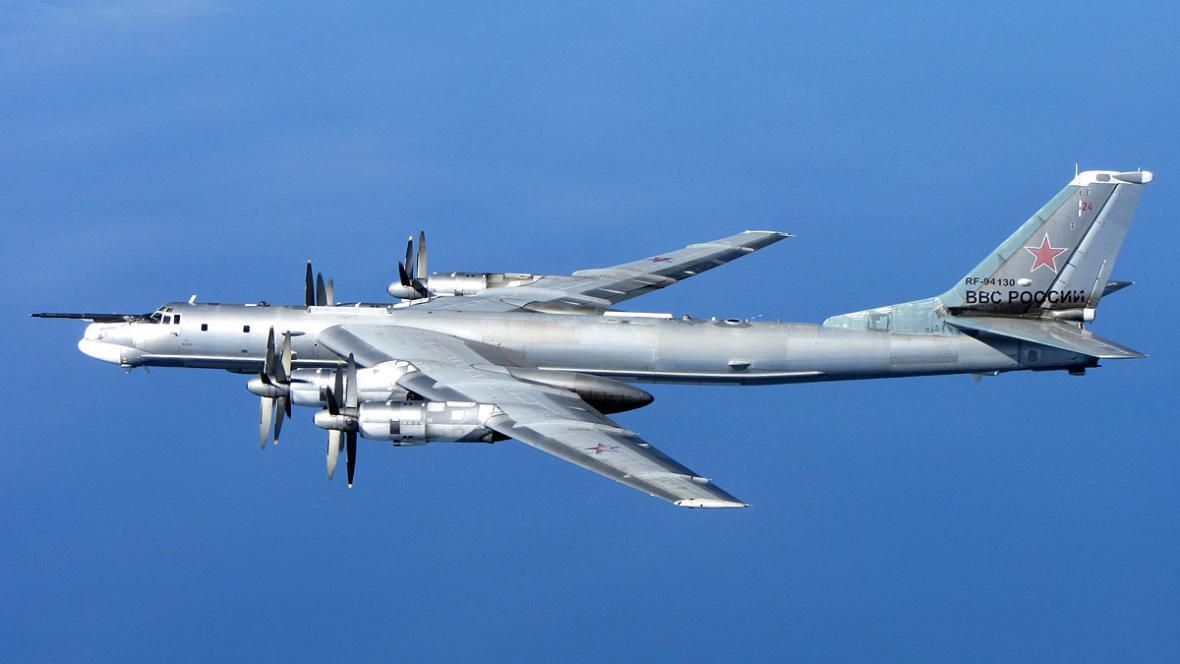 Ruský strategický bombardér Tu-95