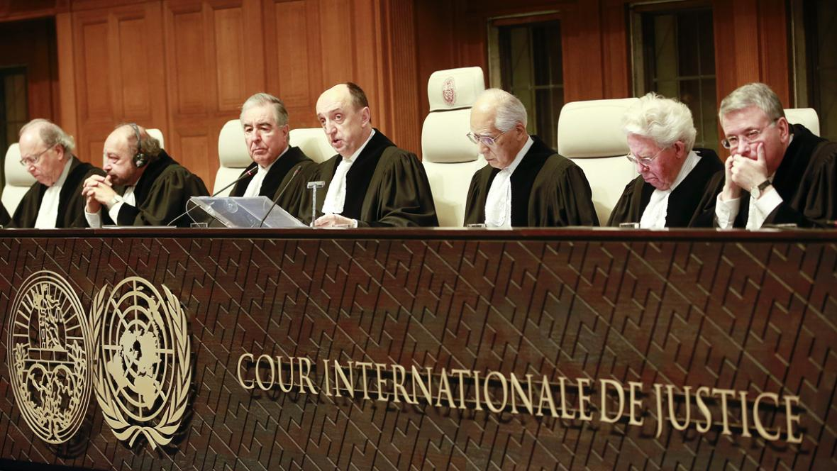 Mezinárodní soudní dvůr v Haagu rozhoduje spor mezi Chorvatskem a Srbskem