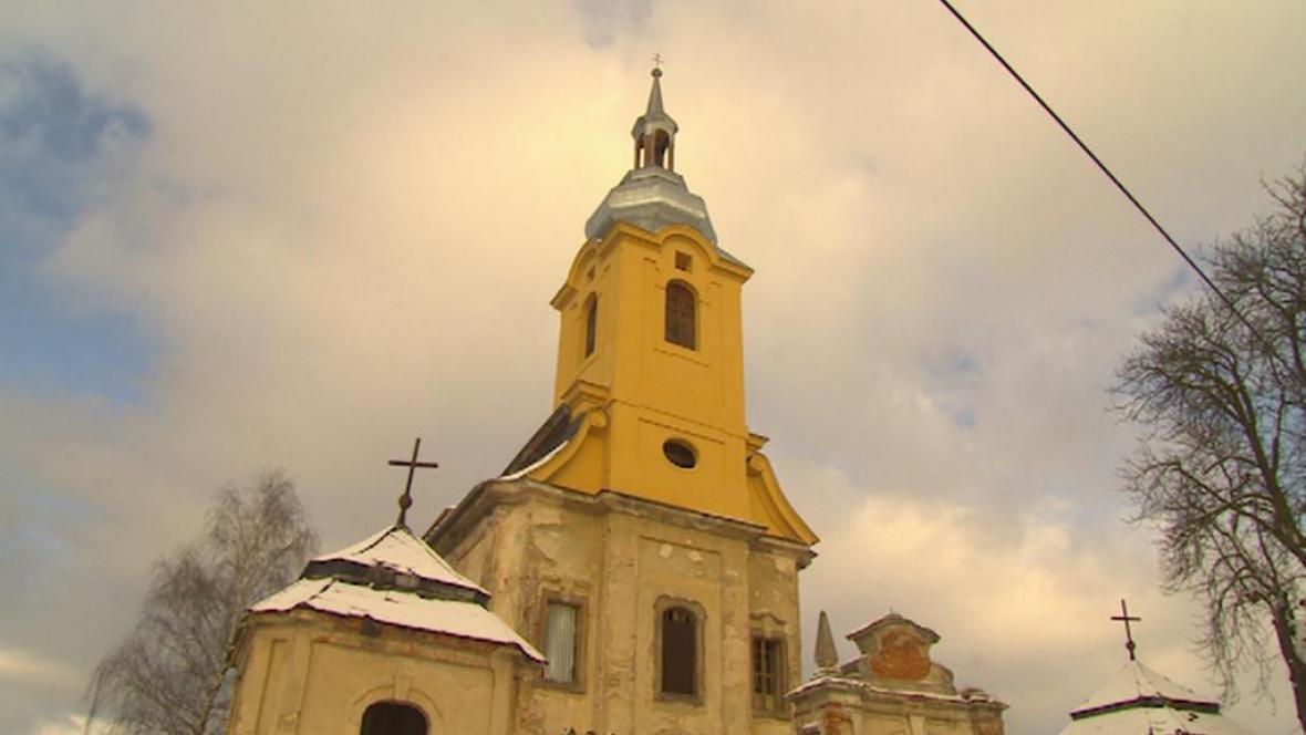 Kostel sv. Jana Křtitele v Brenné