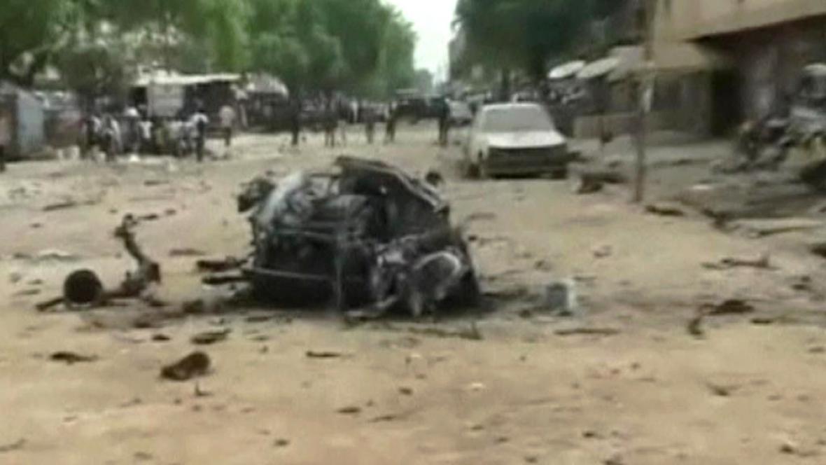 Následky útoku Boko Haram