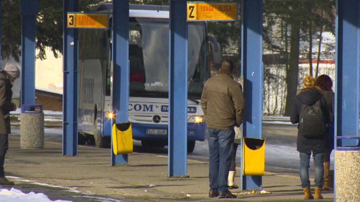 Autobusové nádraží v Humpolci