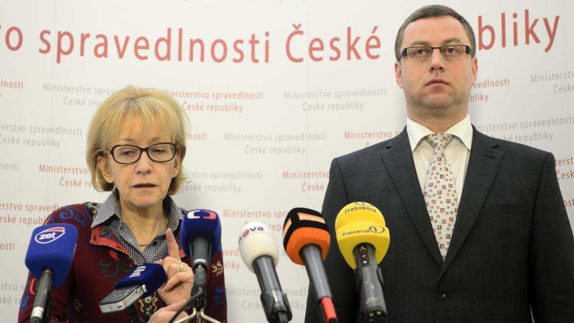 Helena Válková a Pavel Zeman