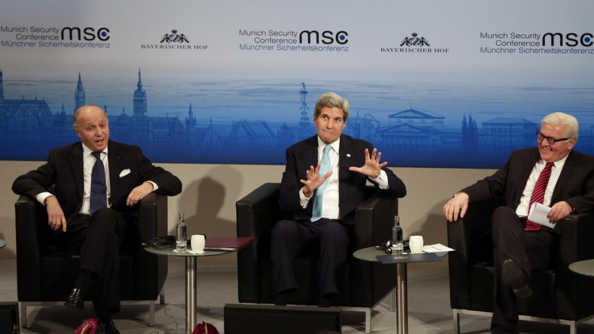 Jednání o Ukrajině v Mnichově