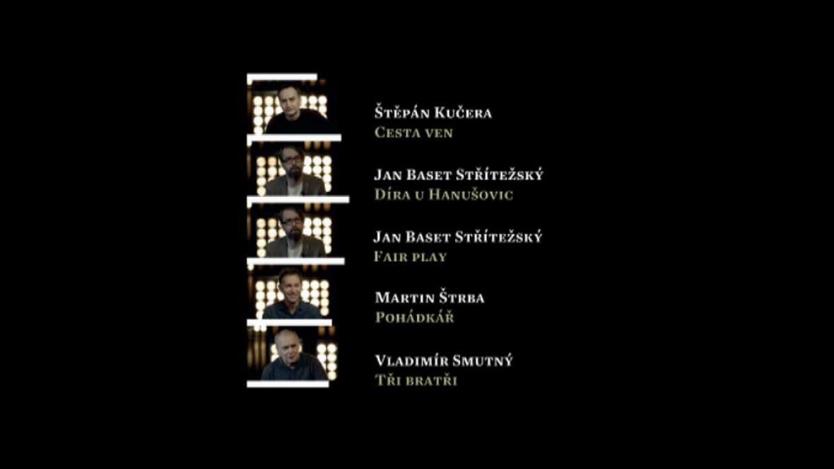 Český lev - nominace: nejlepší kamera