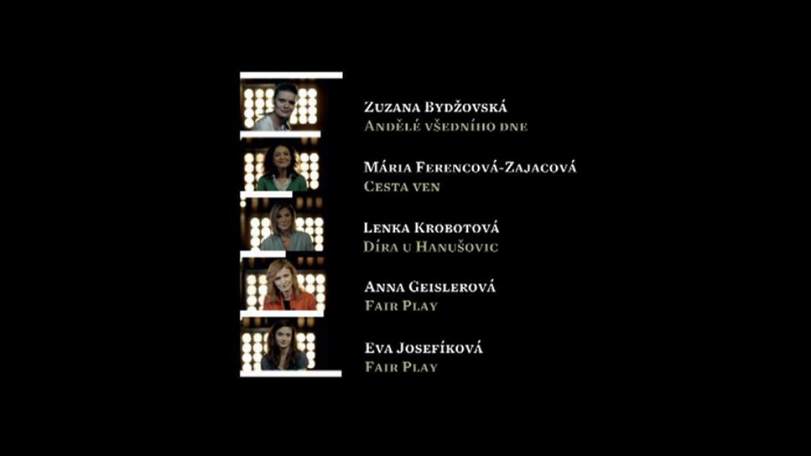 Nominace Český lev: herečka ve vedlejší roli