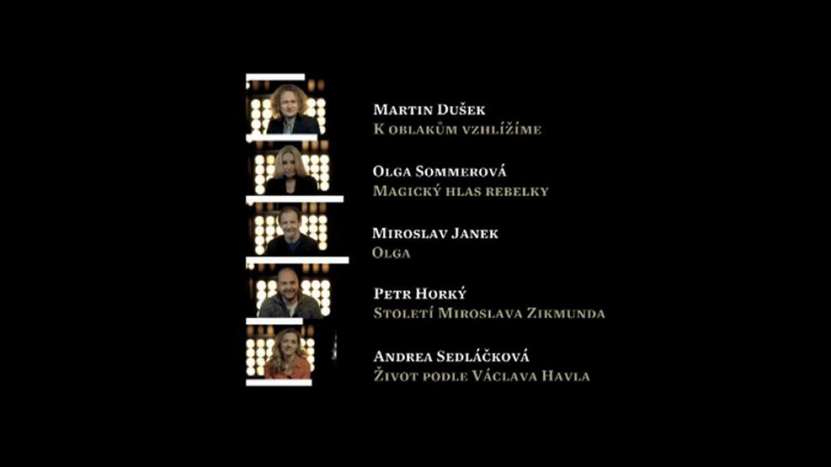 Nominace Český lev: nejlepší dokument