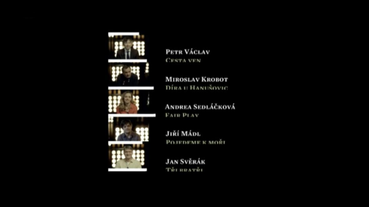 Nominace Český lev: nejlepší režie