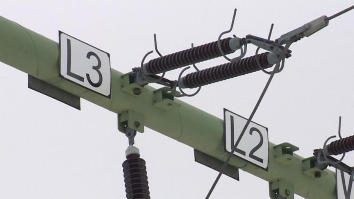 Elektrické vedení na Svitavsku