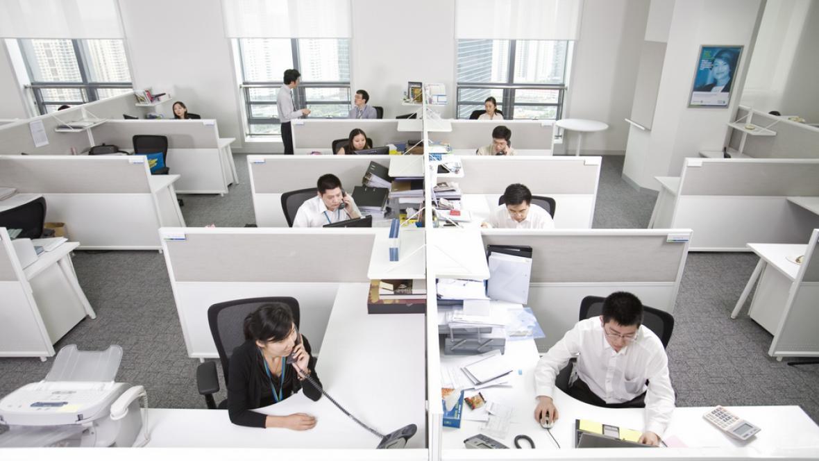Open space kancelář