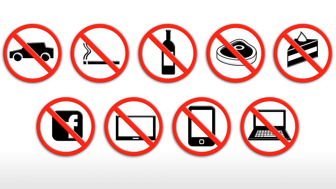 Zákazy – Ilustrační foto