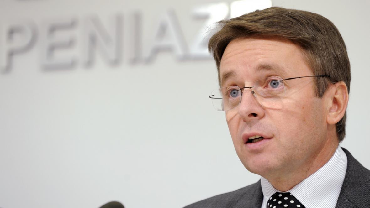 Slovenský politik Ivan Mikloš