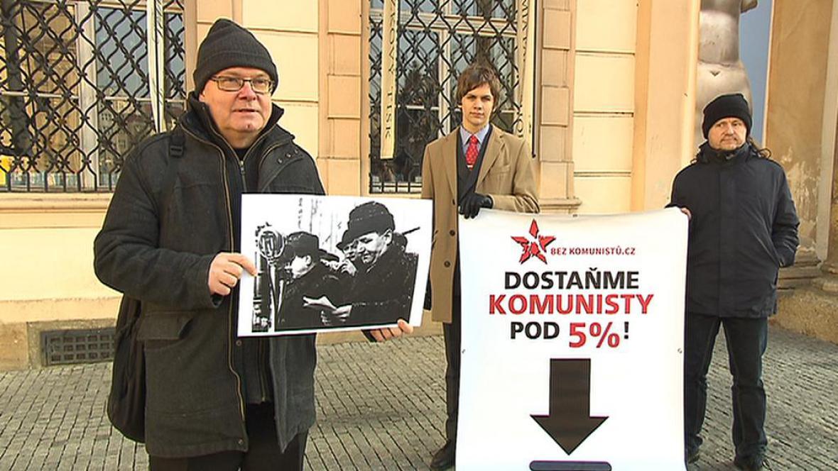 Akce iniciativy Bez komunistů.cz