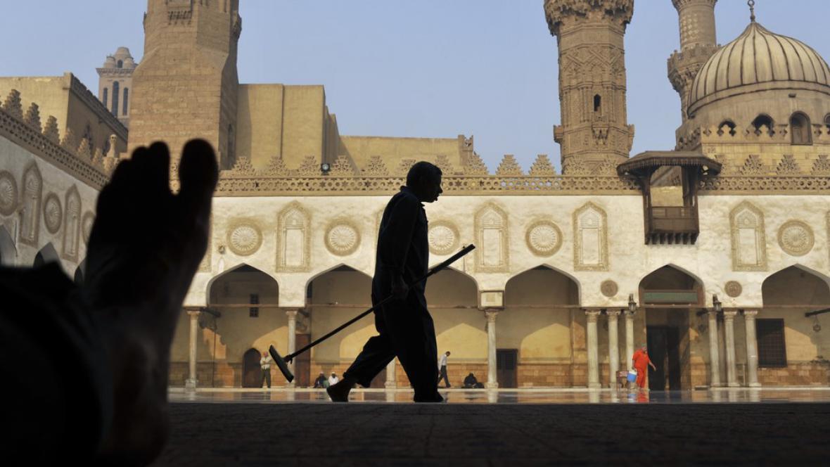 Mešita v Egyptě