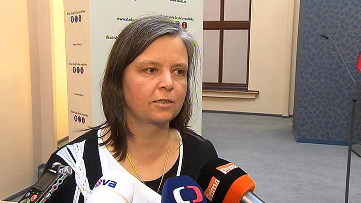 Personální ředitelka pro státní službu Iva Hřebíková