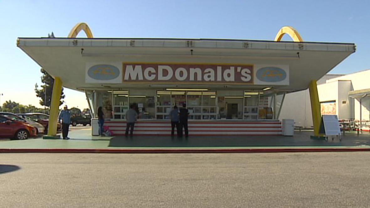 Nejstarší pobočka McDonald's