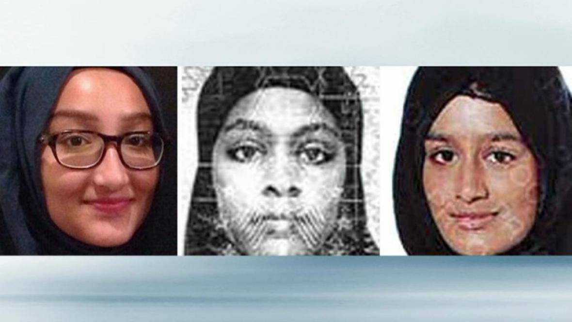 Tři britské školačky, které utekly k IS