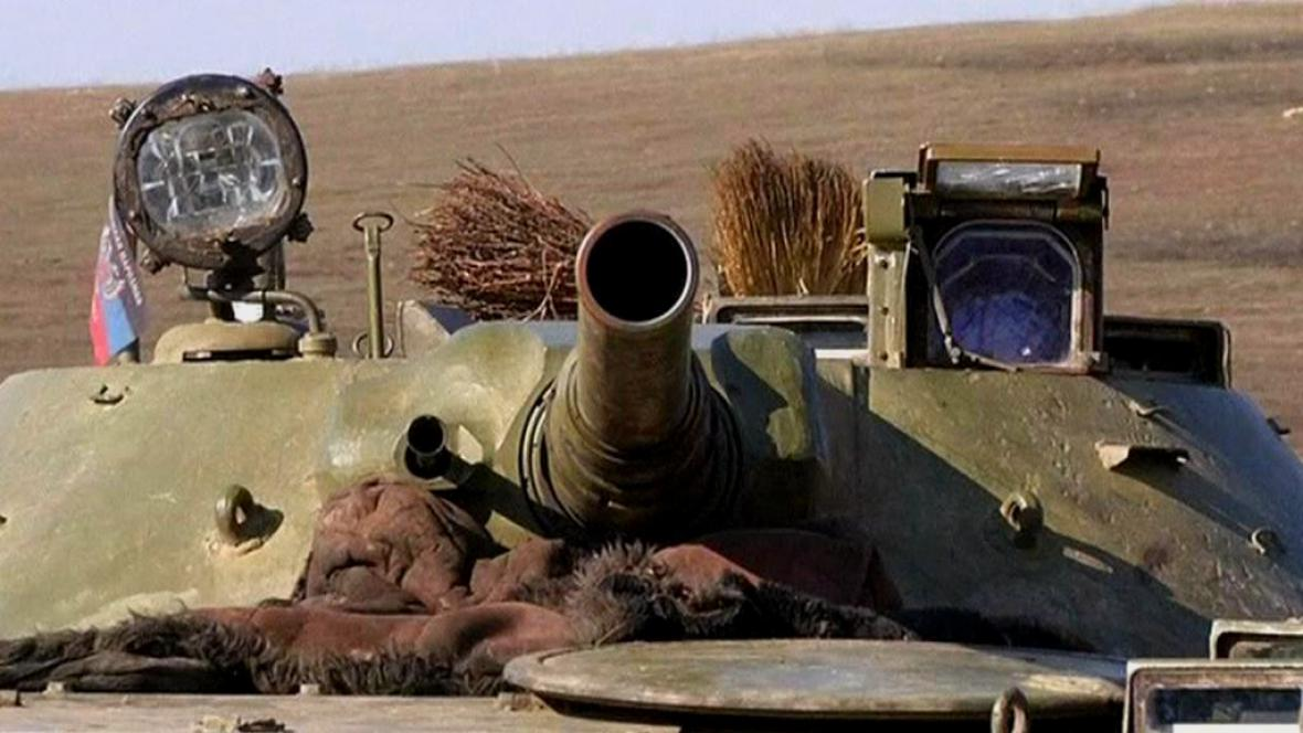 Tank separatistů