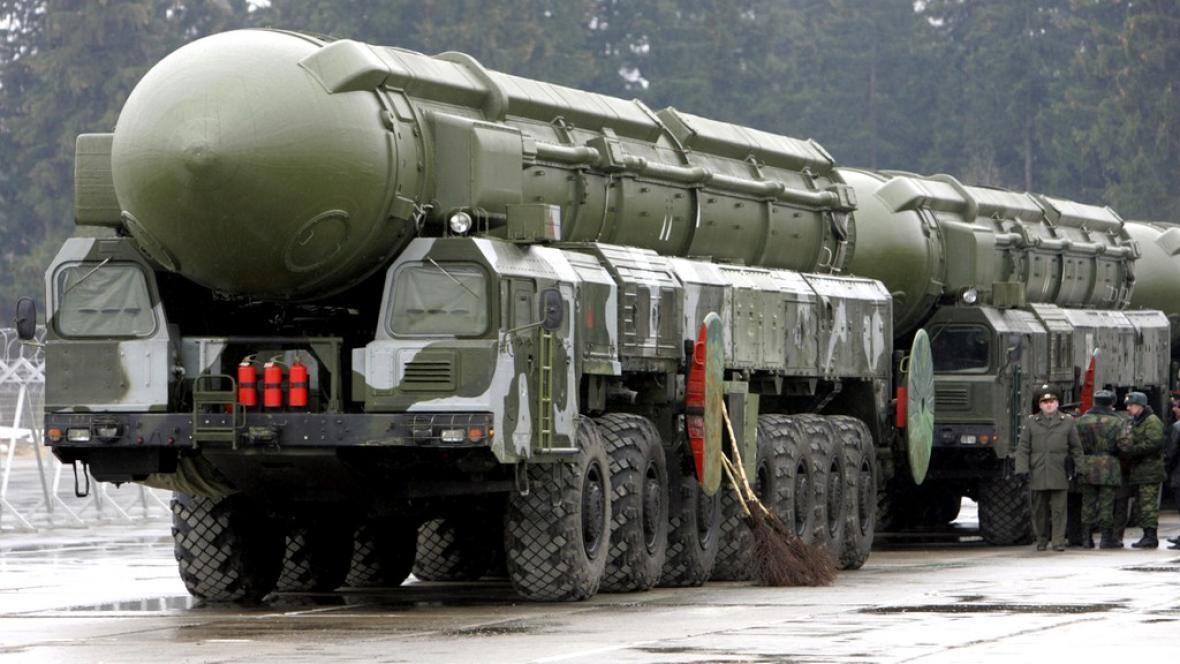 Ruská mezikontinentální raketa