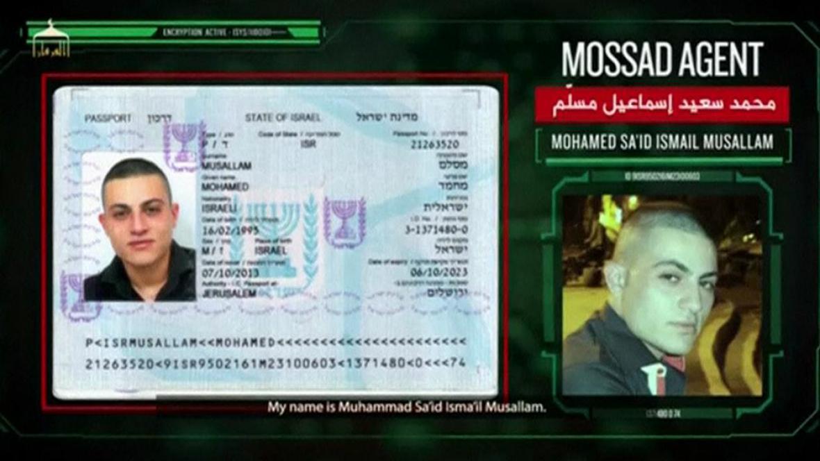 Islamisté vykreslili mladého muže jako agenta Mossadu