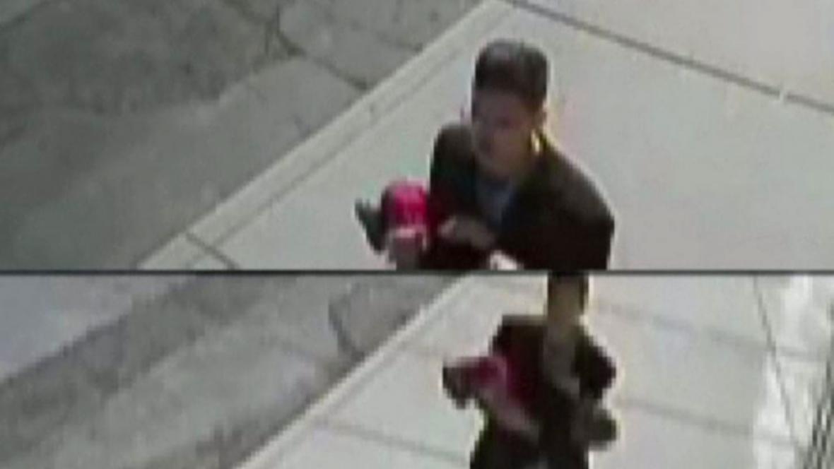 Záběry z bezpečnostní kamery