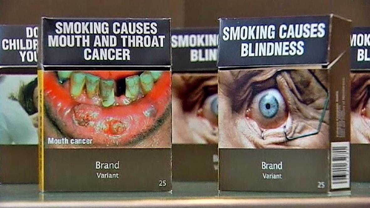Jednotné krabičky cigaret