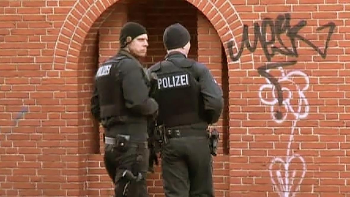 Zátah německé policie