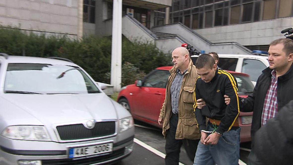 Zadržený, který útočil v metru