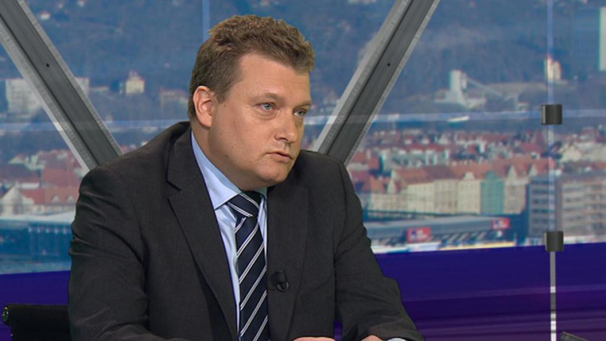 Generální ředitel Českých drah Pavel Krtek