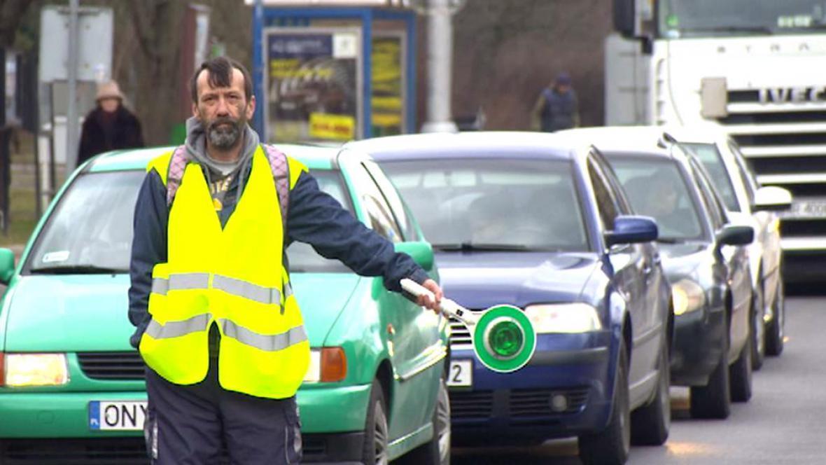 Opravy silnice v Náchodě