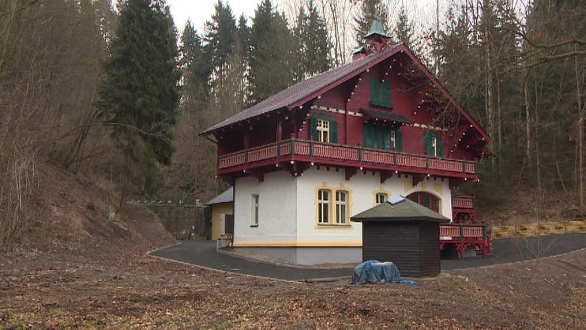 Opravený Löschnerův pavilon