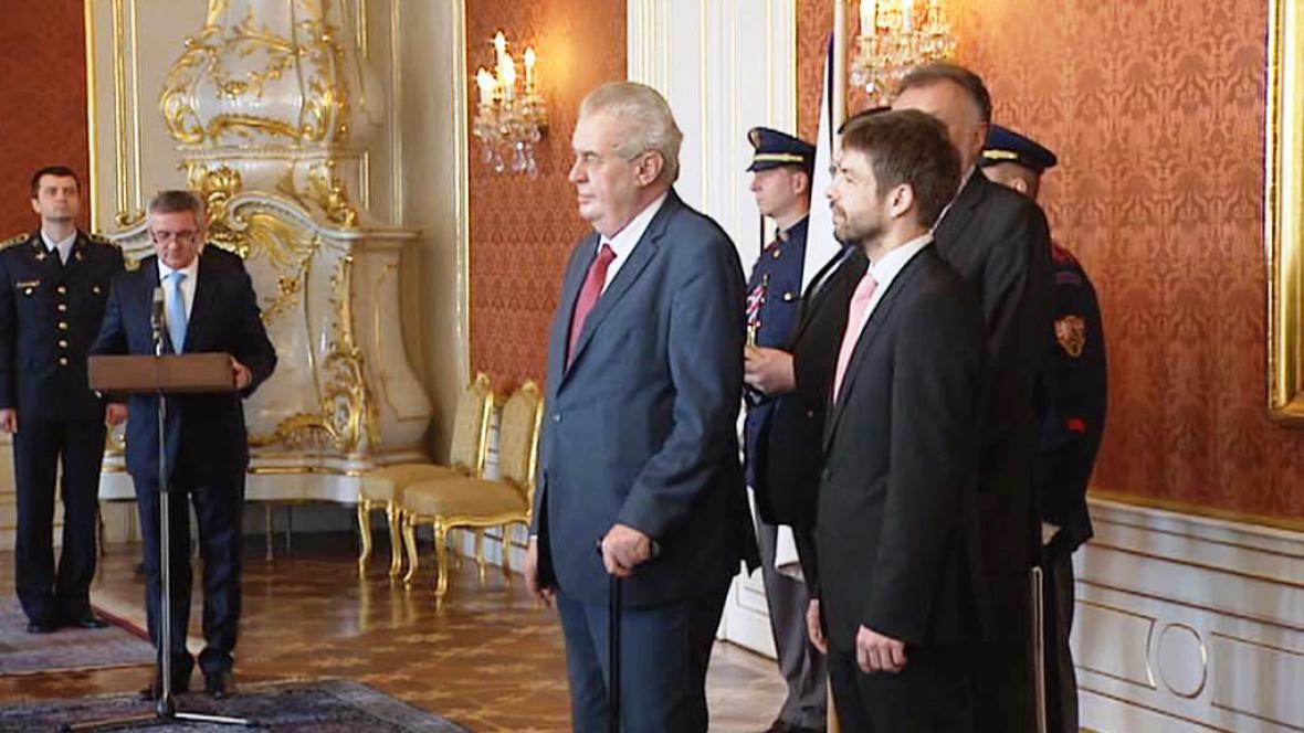 Prezident Miloš Zeman jmenuje nové soudce