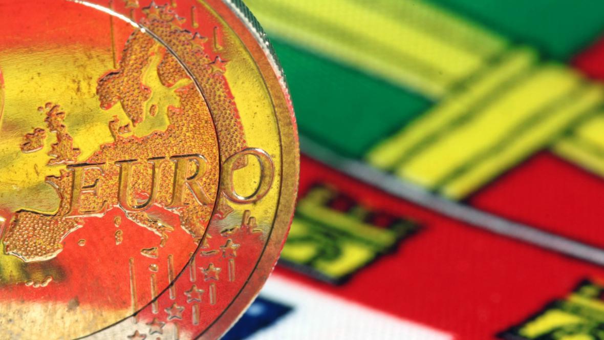 Portugalské euro