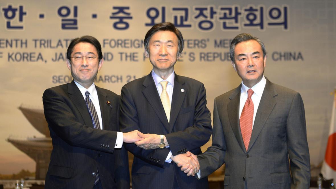 Setkání tří ministrů zahraničí