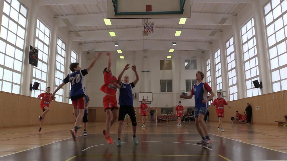 Turnaj v basketbalu starších žáků